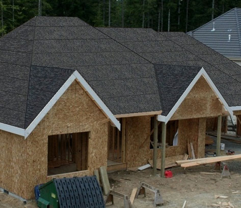 House with Underlayment
