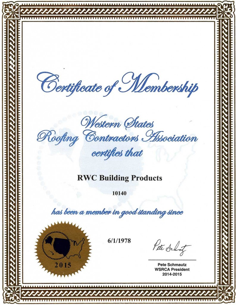 Affiliations Amp Memberships Rwc Building Products