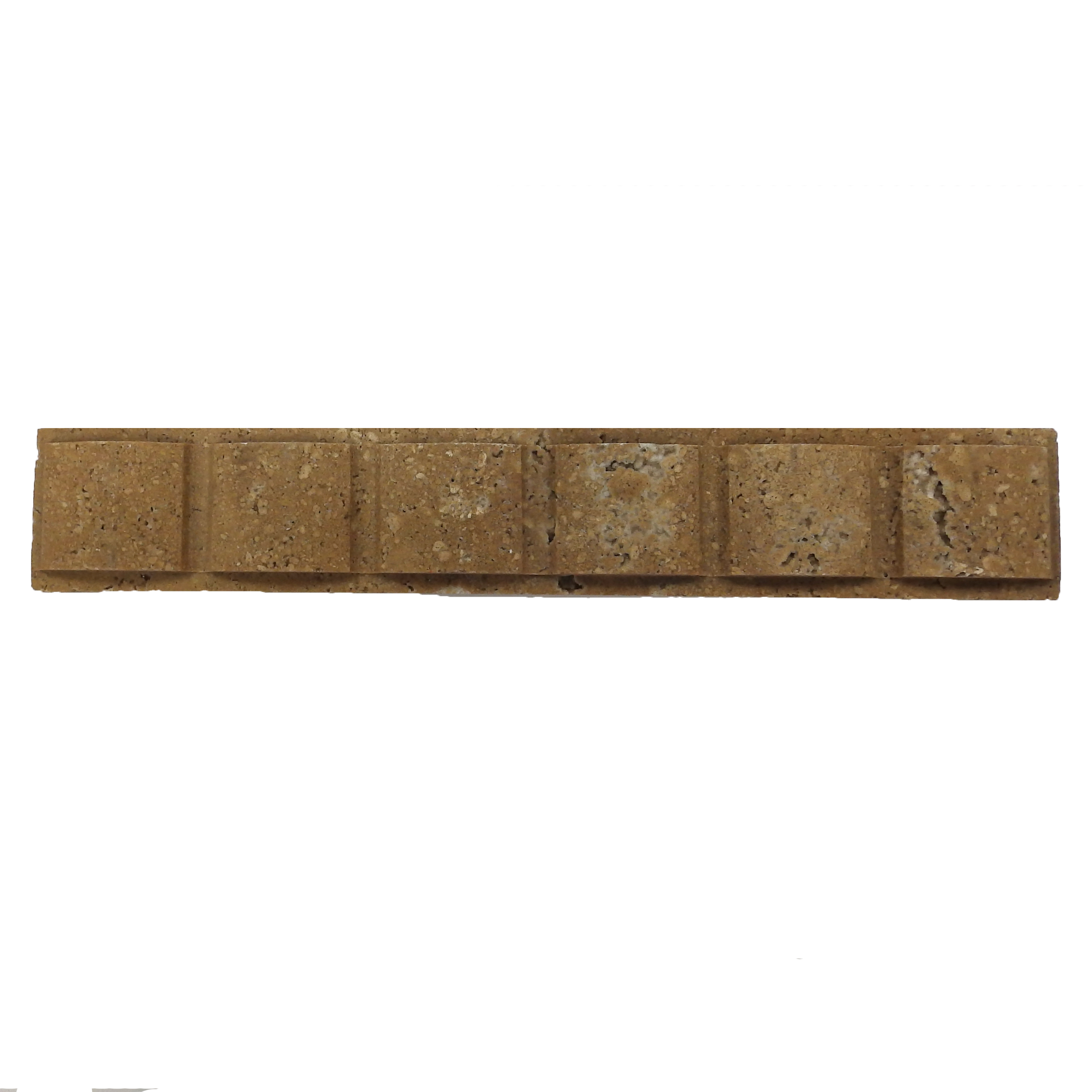 Item #6187 - Noce Bow Pattern Travertine Image