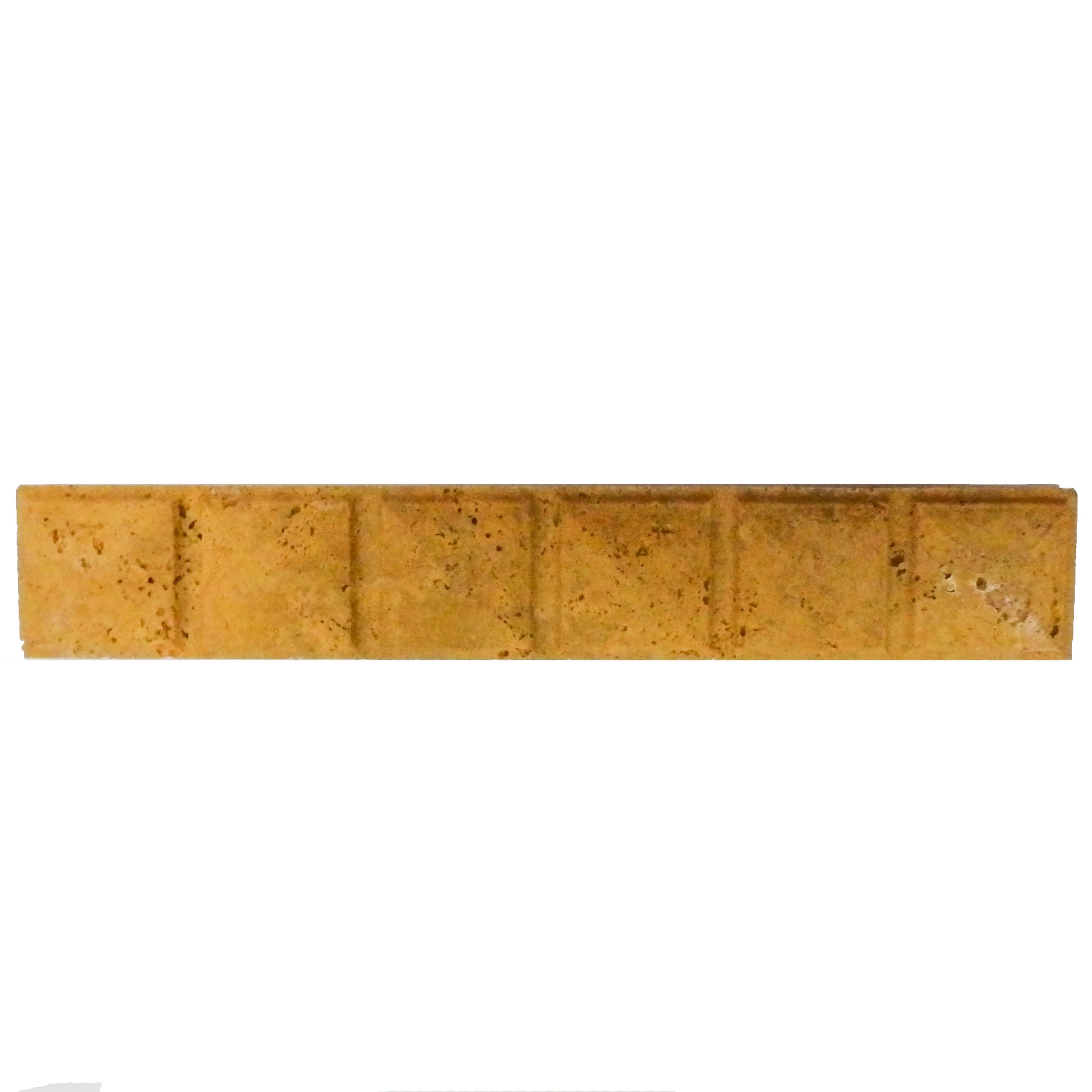 Item #6192 - Gold Pyramid Travertine Molding Image
