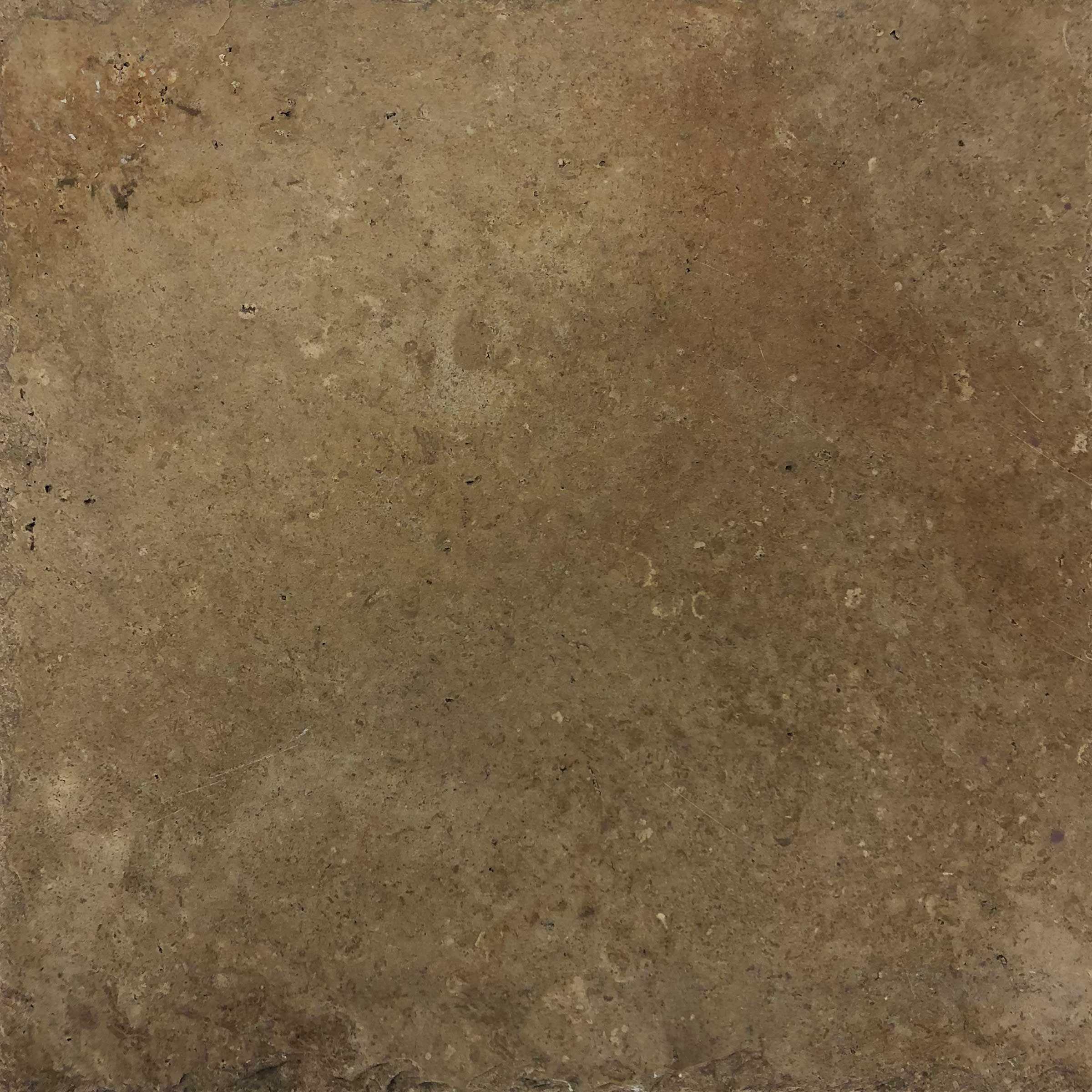 "Item #10947 - 12"" x 12"" Noce Travertine Paver (Chiseled) Image"